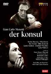 Menotti: The Counsel / Bauer-Theussl/Vienna Volksoper [DVD]