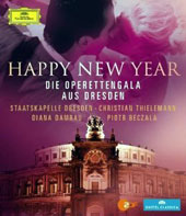 Happy New Year - The Dresden Opera Gala / Ingeborg Schkopf; Piotr Beczala  [Blu-ray]
