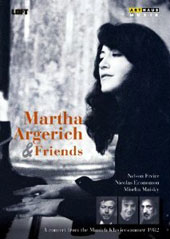 Martha Argerich and Friends - A concert from the Munich Klaviersommer 1982 / Nelson Freire, Nicolas Economou, Mischa Maisky [DVD]