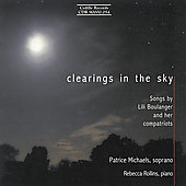 Clearings in the Sky - Boulanger, et al: Songs /Michaels Bedi