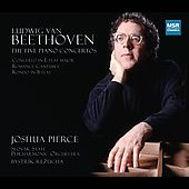 Beethoven: Five Piano Concertos / Pierce, Slovak State PO