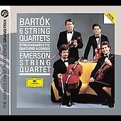 Bart&#243;k: 6 String Quartets / Emerson String Quartet