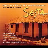 Siesta - Ibert, Ravel, Piazzolla, etc / Petri, Hannibal
