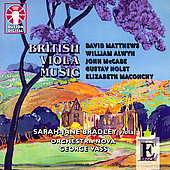 British Viola Music / Bradley, Vass, Orchestra Nova