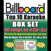 Sybersound: Billboard Top 10 Karaoke, Vol. 4 [Box]