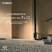 Shostakovich: Symphonies no 9 & 12 / Wigglesworth, et al