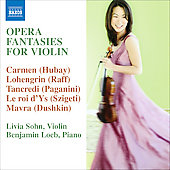 Opera Fantasies for Violin / Sohn, Loeb, Nuttall