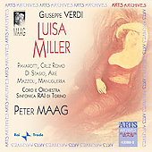 Verdi: Luisa Miller / Pavarotti, Maag, et al