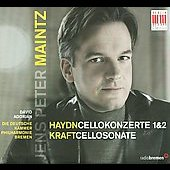 Haydn: Cello Concertos no 1-2;  Kraft: Cello Sonata / Jens Peter Maintz, Dávid Adorján, et al