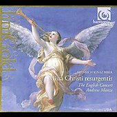 Biber: Missa Christi resurgentis / Manze, English Concert
