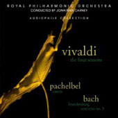 Vivaldi: The Four Seasons;  Pachelbel, Bach / Jonathan Carney, et al