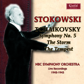 Stokowski conducts Tchaikovsky - The Storm Op 76, Symphony no 5, etc