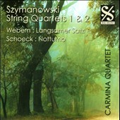 Szymanowski: String Quartets 1 & 2 / Carmina Quartet