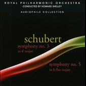 Schubert: Symphonies 3 & 5 / Shelley