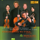 Spanish Music for Guitar & Quartet, Vol. 1 / Minguet Quartet