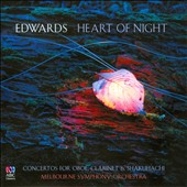 Ross Edwards (b.1943): Heart of Night - Concertos for Oboe, Clarinet & Shakuhachi / Diana Doherty, oboe; Riley Lee, shakuhachi; David Thomas, clarinet; Melbourne SO; Volmer