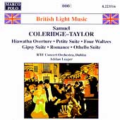 British Light Music - Coleridge-Taylor / Leaper, Dublin RTE