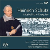 Heinrich Schutz: Musikalische Exequien und andere Trauerges&#228;nge / Mields, Zugner, Kobow, Mathger, van der Kamp