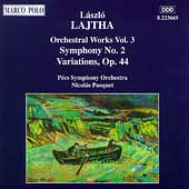 Lajtha: Orchestral Works Vol 3 / Pasquet, Pécs SO