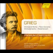 Grieg: Orchestral Works & Piano Concerto / Garrick Ohlsson, Neville Marriner