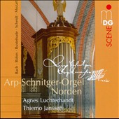 Arp-Schnitger-Organ Norden, Vol. 3 - works by Bach, Bohm, Buxtehude, Scheidt, Mozart / Agnes Luchterhandt & Thiemo Janssen