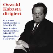Oswald Kabasta dirigiert Mozart, Schubert: Symphonies