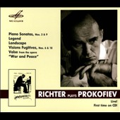 Sviatoslav Richter plays Prokofiev - Piano Sonatas nos 2 & 9; Legend, Op. 12/6; Visions Fugitives; Landscape