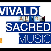 Vivaldi: Sacred Music / Sandrine Piau, Marie-Nicole Lemieux, Philippe Jaroussky. Concerto et al. [6 CDs]