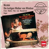 Nicolai: The Merry Wives of Windsor / Frick, Mathis, Putz, Litz, Wunderlich. Heger