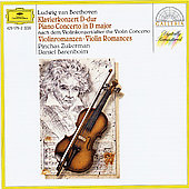 Beethoven: Piano Concerto, Romances nos 1 & 2 / Barenboim