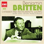 Britten: Chamber & Instrumental Works - Quartets, Sonatas, Cello Suites; Phantasy; Rhapsody et al.