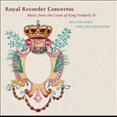 Royal Recorder Concertos: Music from the Court of King Frederik IV by Graupner, Scheibe, Graun / Arte die Suonatori