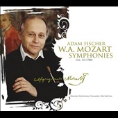 Mozart: Symphonies, Vol. 12 (1788), nos 40 & 41 'Jupiter' / Adam Fischer, Danish Nat'l CO