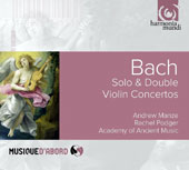 J.S. Bach: Solo & Double Violin Concertos / Andrew Manze, Rachel Podger, violin; Academy of Ancient Music