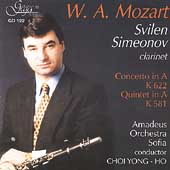 Mozart: Concerto for Clarinet, etc /Simeonov, Yong-Ho, et al