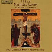 Bach: Matth&#228;us-Passion / Suzuki, Bach Collegium Japan