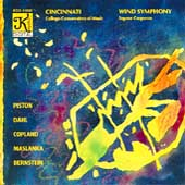Piston, Dahl, Copland, et al / Cincinnati Wind Symphony