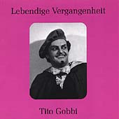 Lebendige Vergangenheit - Tito Gobbi