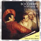 Boccherini: 6 Trios Opus 47 / Fabio Biondi, L'Europa Galante