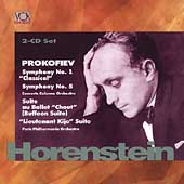 Legends - Prokofiev: Symphonies no 1 & 5, etc / Horenstein