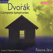 Dvorák: Complete Symphonies / Järvi, Scottish National O