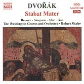Dvorak: Stabat Mater / Brewer, Simpson, Aler, Gao, et al