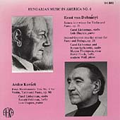 Hungarian Music in America Vol 6 - Dohnányi, Kovách