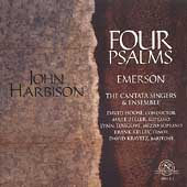 Harbison: Four Psalms, Emerson/ David Hoose, Cantata Singers