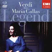 Legend - Verdi: Arias / Maria Callas