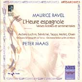 Ravel: L'Heure Espagnole / Maag, Milan RAI Orchestra, et al