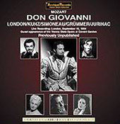 Mozart: Don Giovanni / Böhm, London, Kunz, Jurinac, et al