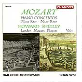 Mozart: Piano Concertos Vol 4 - nos 12 & 19 / Howard Shelley