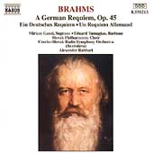 Brahms: Ein Deutsches Requiem / Rahbari, Gauci, Tumagian
