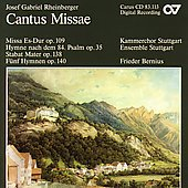 Rheinberger: Cantus Missae / Frieder Bernius
